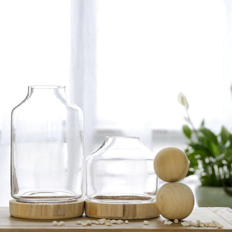 Wholesale Decorative Glass Bottles Brilliant 2Inch Unfinished Round Wood Ball Lids For Glass Vasedecorative Inspiration