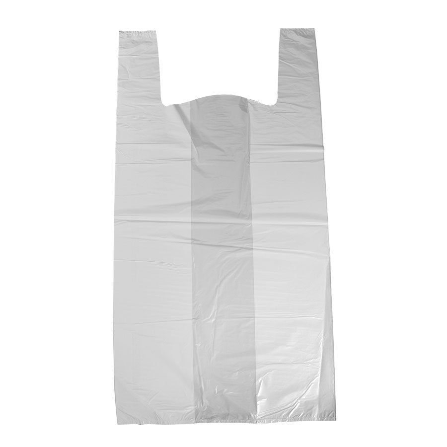 Small and large Multi color Plain T-Shirt Merchandise bags Made in China
