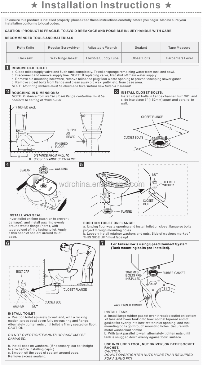 Flushometer Toilet Water Closet Or Urinal Valve Troubleshooting Adjustment Advice