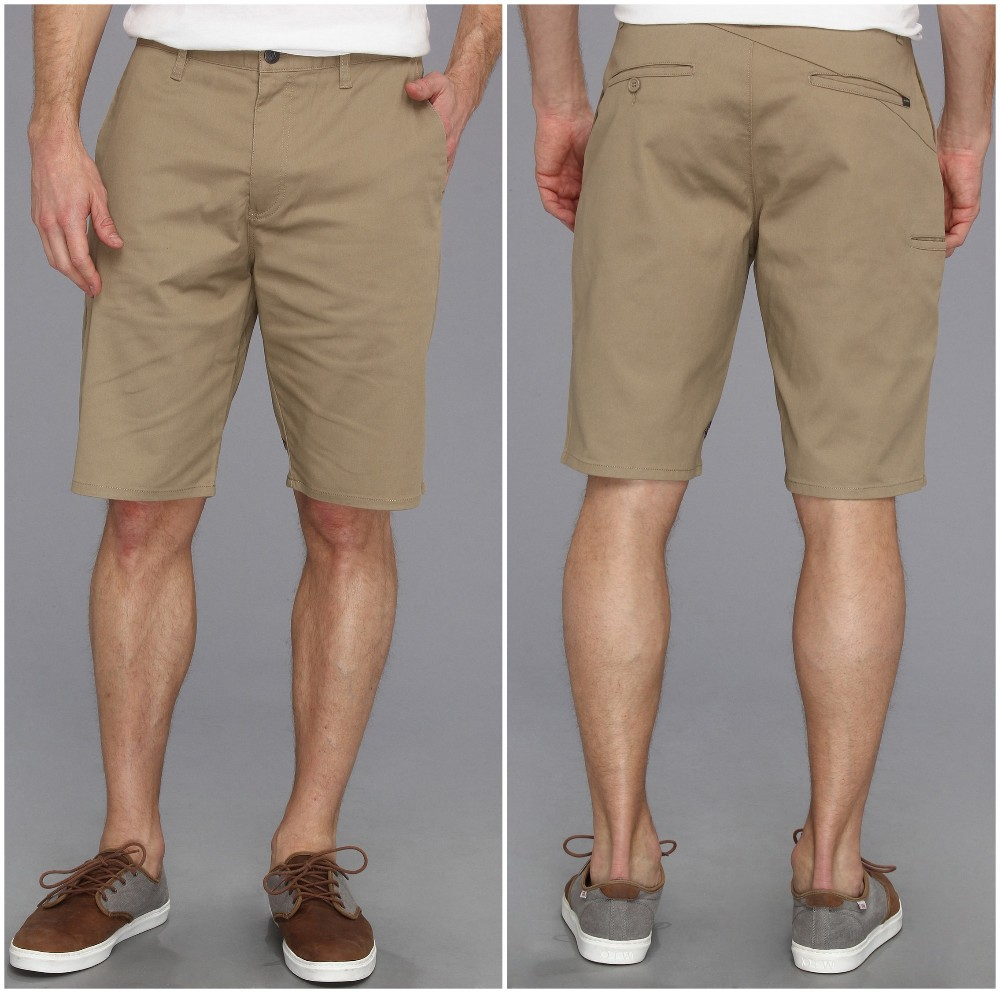 2014 China Wholesale Zip Fly Polyester Cotton Modern Man Stretch Shorts