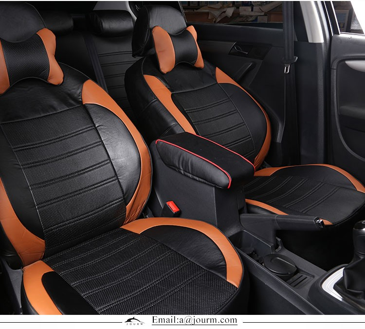 The New 2016 Senior 5d Cotton And Leather Car Seat Covers For ...