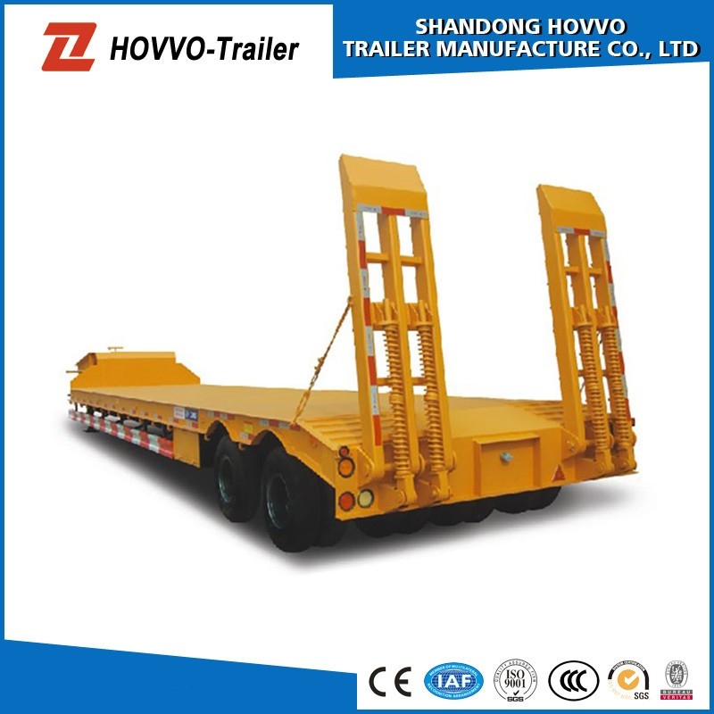 China Supplier Vehicle Transport Truck Trailer Car Heavy Machinery ...