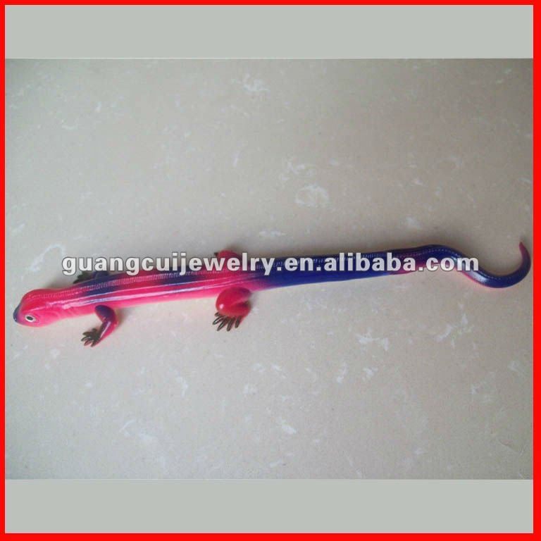 fashion lizard new plastic ball pen