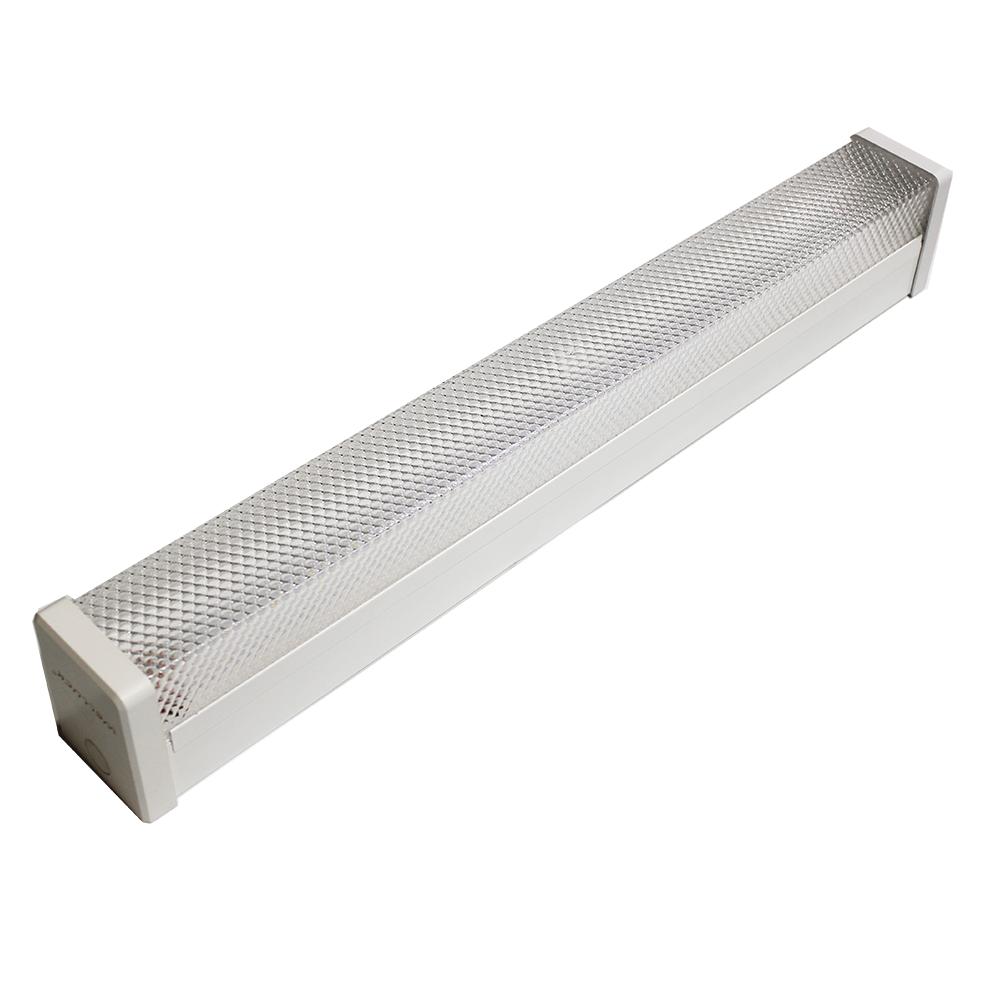 DLC list 2ft 40W Linkable LED shop Lights ,flush ceiling mount commercial led linear wrap light around