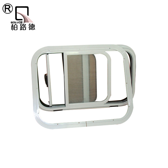 Aluminium extrusion side caravan windows