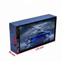 2017 most popular 2 din car MP4 MP5 player for universal car