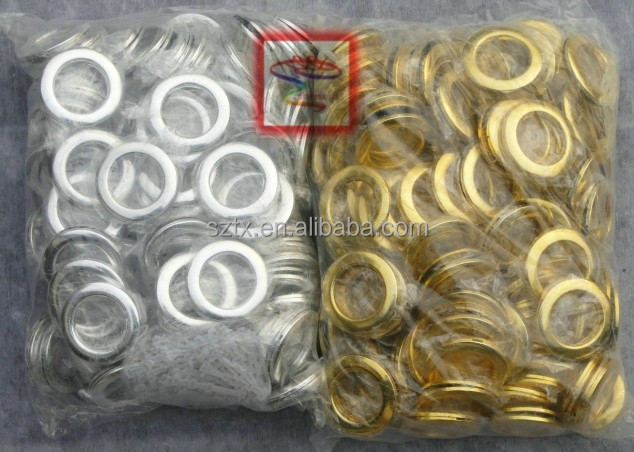 64mm Eyelet Curtain Rings Without Nomo Ring For Curtain Tape - Buy ...