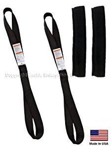 "Ancra Tiedowns 18"" Tie Down Extension w/ Fleeces - Black"