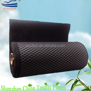 Activated Carbon Non Woven With Metal Mesh Filter Media