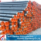 3PE oil pipeline coating anti-corrosion insulation steel pipechina supply