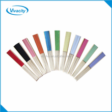 Wholesale promotion customize bamboo paper Blank folding hand fans