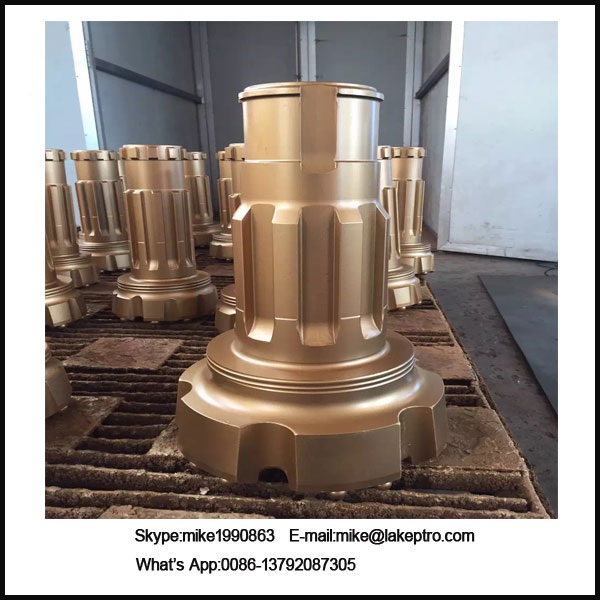 DTH drill bit for core drilling