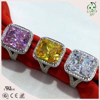 2016 Creative Imports Of High Carbon Diamond Set 8 Carat Diamond Ring