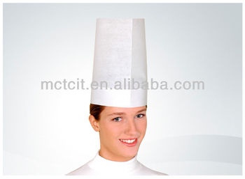Food Service Disposable Kitchen Hat Waiter Disposable Paper Chef Cap For Resteraunt Buy Disposable Kitchen Hat Waiter Paper Cap Hats Disposable
