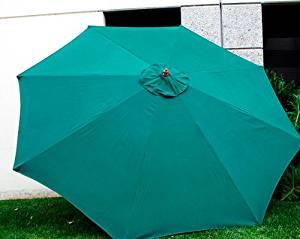 Get Quotations · New Market Patio Umbrella Replacement Canopy Canvas Cover  8u0027 9u0027 10u0027 11u0027