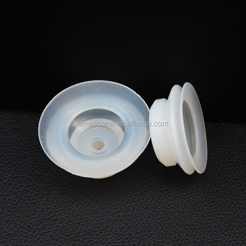 Vacuum Double Side Silicone Rubber Suction Cups