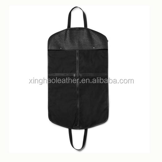 a4d3a3c2830c Luxury Premium Basket Leather Suit Carrier Travel Suit Cover Garment ...