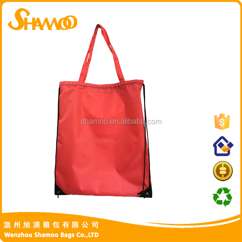 multipurpose recycled wholesale customprinted promotional gift backpack drawstring bag shopping bags