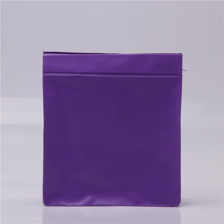 Zip khóa frosted nhựa trượt PVC dây kéo đóng gói túi cho đồ lót quần áo mỹ phẩm
