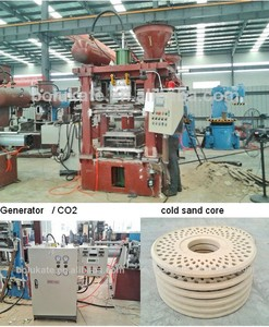 CE Approved Ductile Iron Casting Foundry / Core Making Machine