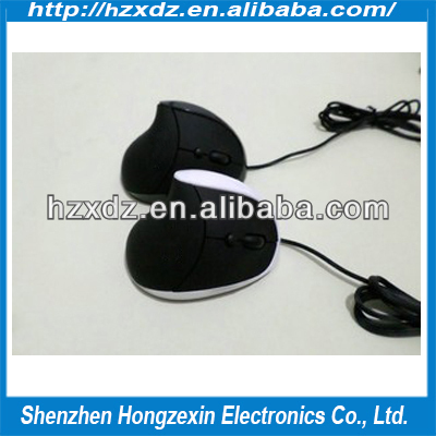 The new laser 6D Wired Vertical Mouse,Upright photoelectric USB 2.0 wired Mouse,2.4ghz usb wired optical mouse driver