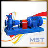 Motor powered surface pump hydraulic