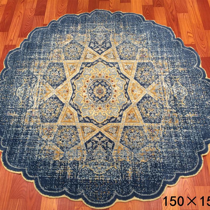 Teppich rund blau  Finden Sie Hohe Qualität Belgienteppich Hersteller und ...