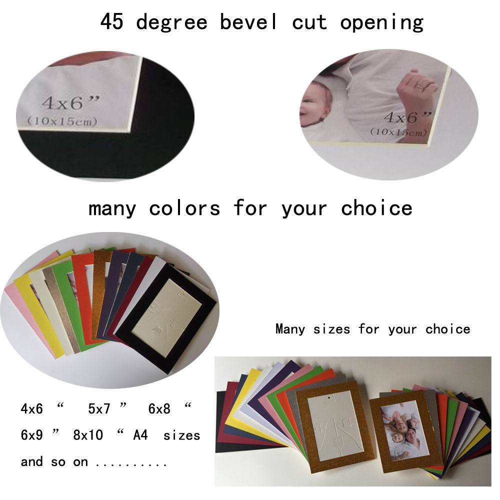 White Paper Picture Frame 4x6 5x7 8x10 A4,Paper Photo Frame - Buy ...