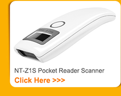 handheld 2d wired supermarket image barcode scanner decode qr code data matrix and pdf417 nt-w5