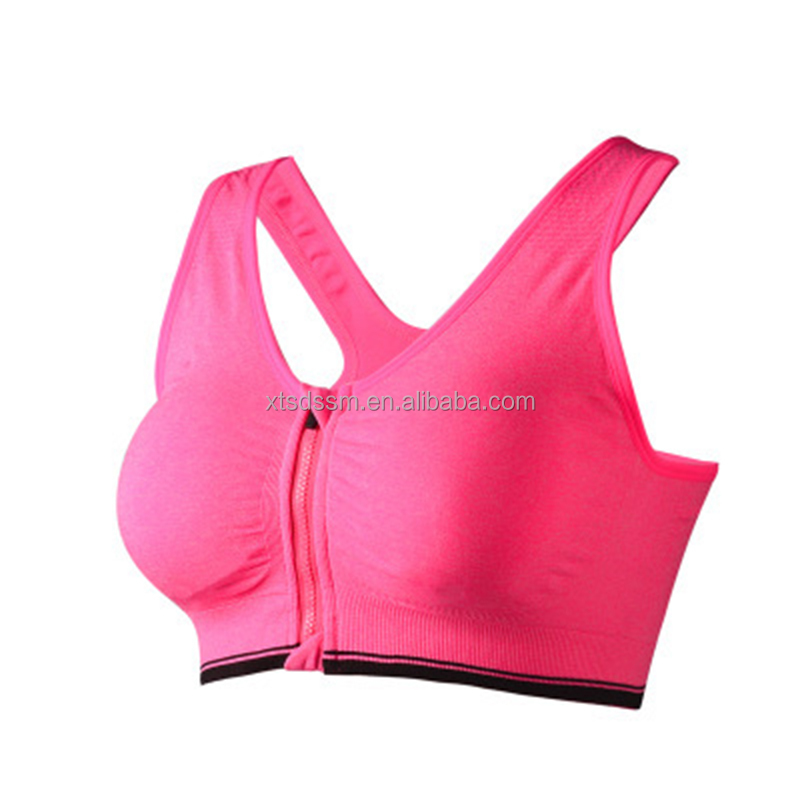 Top sale Gym fitness wear products cheap wholesale yoga padded sports bra