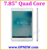 7.85 inch Retina IPS screen 4:3 ATM 7029 Quad core Tablet PC 1.6GHz with BT Wi-Fi, HDM, External 3G,Capacitive 1024*768