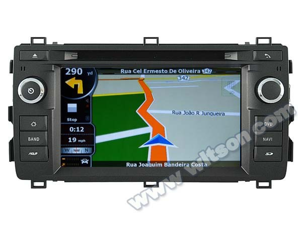 WITSON <strong>CAR</strong> DVD GPS RADIO PLAYER FOR <strong>TOYOTA</strong> AURIS 2013 WITH 1.6GHZ FREQUENCY A8 DUAL CORE CHIPSET BLUETOOTH GPS