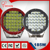 185W 9 Inch Round LED Work Light Lamp match SUV 4x4 Truck Tractor Boat High Power