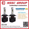 NSSC 5S Air Jump Fanless LED Headlight Bulb H4 25W 3500lm 6500 lux High Low Beam