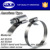 Adjust range=105-178mm, Worm gear drive American type hose clamp