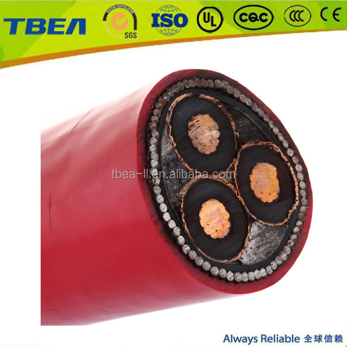 11 KV 3 core 185mm2 swa armored XLPE cable