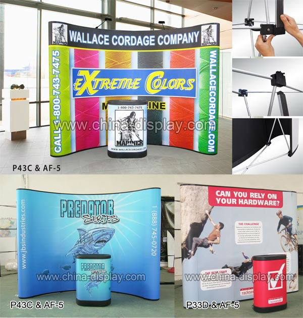 Exhibition Stand Roll Up : Trade show display exhibition booth roll up pop up banner buy