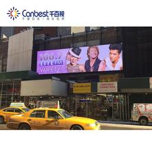 Big size P10 Hoge helderheid 10000 dots grootste bill board toepassingen outdoor led display