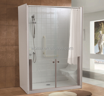 Charming Arylic Shower Room For Old People And Disable People Y699A