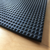 Chinese supplier waterproof acid resistant rubber car floor mat anti slip pyramid rubber sheet rubber plate