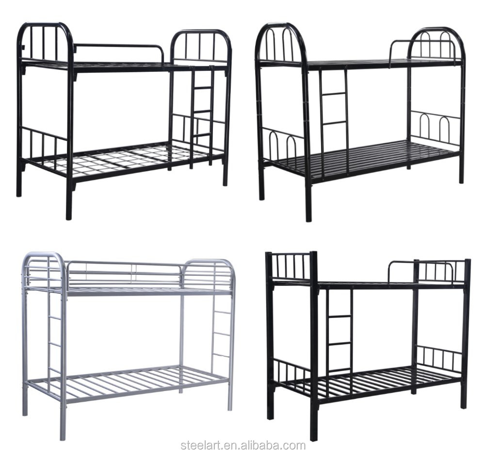 Steel double deck bed - Cheap Steel Double Decker Bed For Sale Made In China