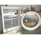 Safety glass window round that open windows for sale