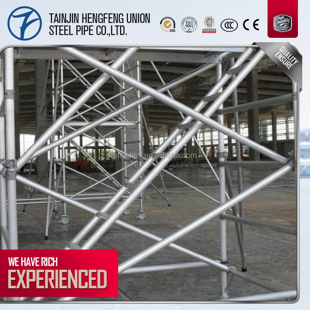 price list of used construction scaffolding tubing shopping