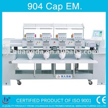 904 CAP AND T-SHIRT 4 HEAD COMPUTERIZED EMBROIDERY MACHINE FLAT EMBROIDERY MACHINE HOT SELL HAT EMBROIDERY MACHINE FOR SALE