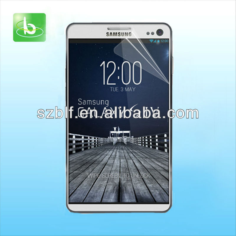 High clear anti glare invisible shield for samsung galaxy s4 I9500