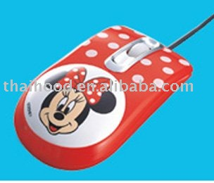 The promotional mickey mouse