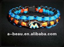 paracord bracelet with printed Logo