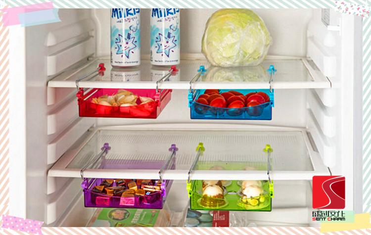 refrigerator racks. fridge storage rack drawer type box kitchen shelf table racks refrigerator a