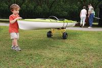 adjustable kayak cart paddle/double sit on top kayak cart/kayak cart for water games