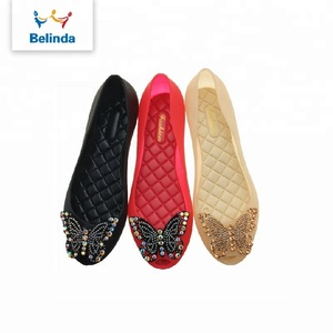 simple fancy sandal casual flat ladies shoes for women